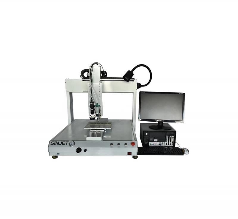 桌面式视觉喷胶机